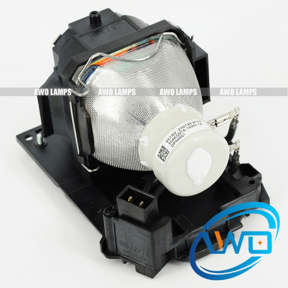 AWO Original Lamp Bulb DT01241 Projector Lamp for HITACHI CP-RX94 Projector 150 Day Warranty free shipping an xr20lp original projector bulb shp93 for sh arp dt 100 dt 500