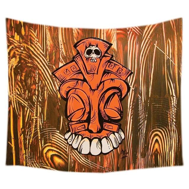 2017 New Tiki Design Wall Hanging Tapestry Fashion Wall Art Decor ...