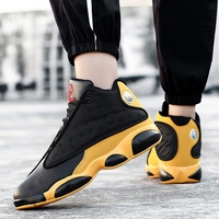 New Mens Basketball Shoes 2019 Brand Zapatos Hombre High Top Jordan Retro Shoe Outdoor Anti slip Breathable Light Sneakers Shoes