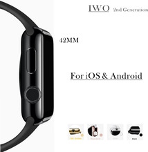 1:1 bluetooth smart watch iwo verbesserte 2nd generation smartwatch uhr für apple iphone samsung für android huawei xiaomi lenovo