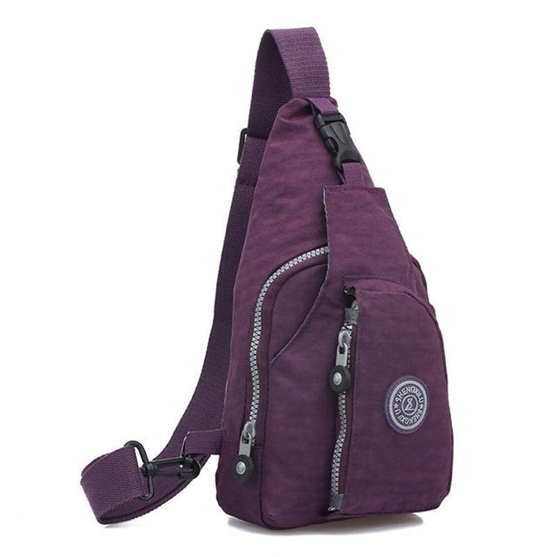2017 New Waterproof Nylon Small Crossbody Women Bags Casual Sling Chest Bags for Women Cross Body Messenger Shoulder Bags