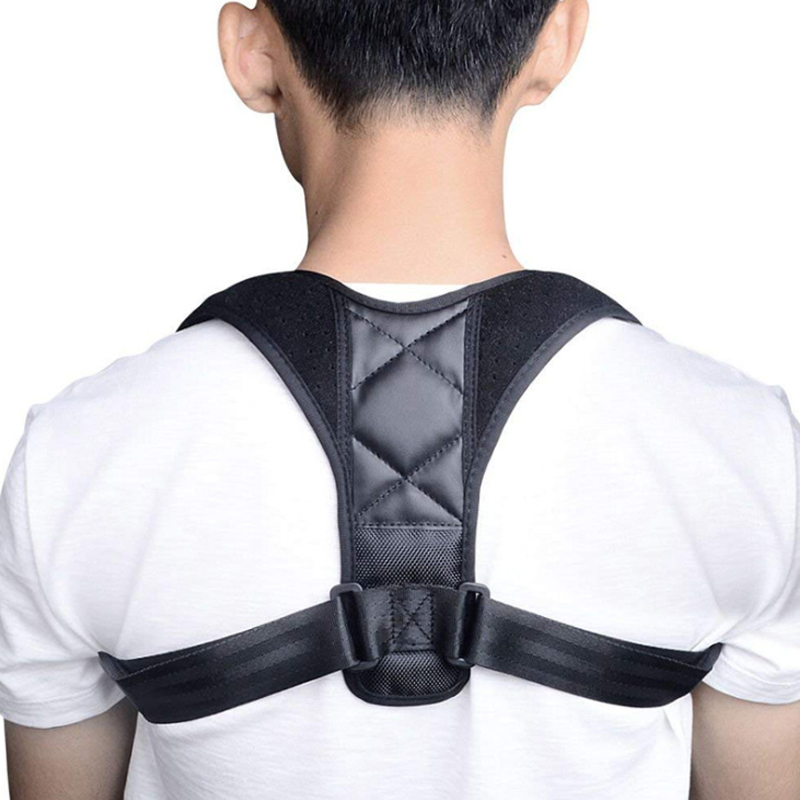 Adjustable Back Posture Corrector Clavicle Spine Back Shoulder Lumbar Brace Support Belt Posture Correction Prevents Slouching mcoplus 40m 130ft waterproof underwater housing camera case bag for canon eos g16