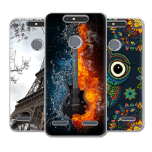 New Arrival Phone Case For ZTE Blade V8 Lite 5-inch Fashion Design Art Painted TPU Soft Case