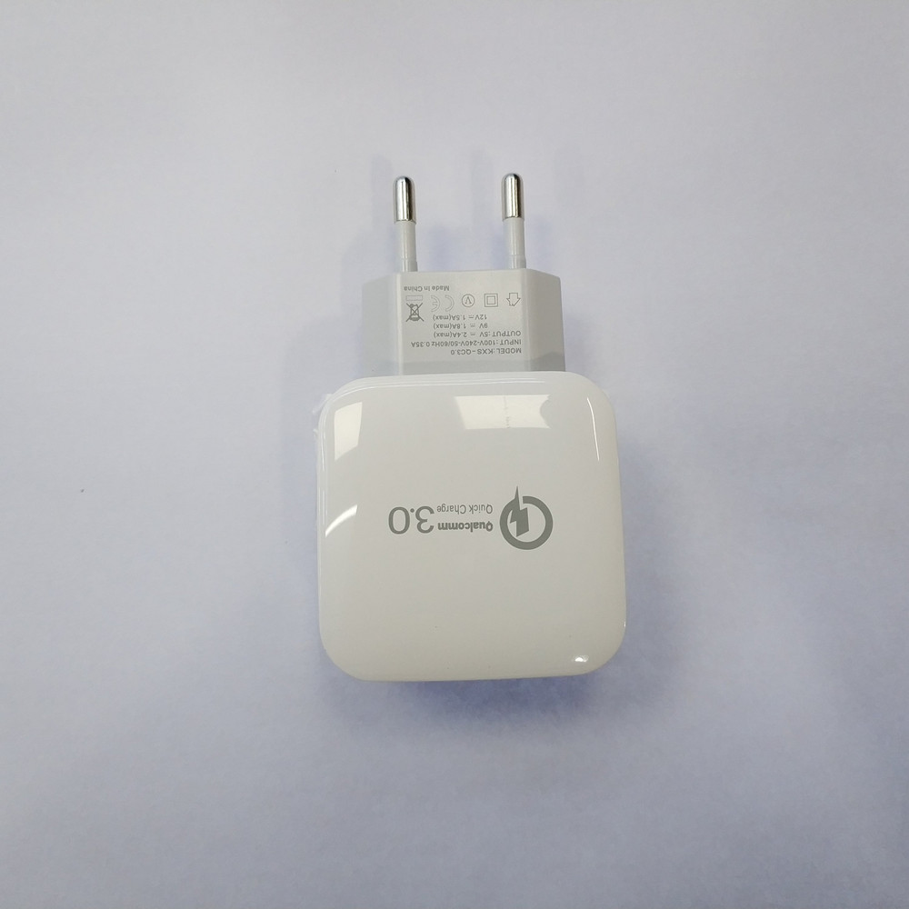 10pcs a Lot Universal Single USB 5V 2.4A QC3.0 Quick Charger Power Adapter-in Mobile Phone Chargers from Cellphones & Telecommunications    1