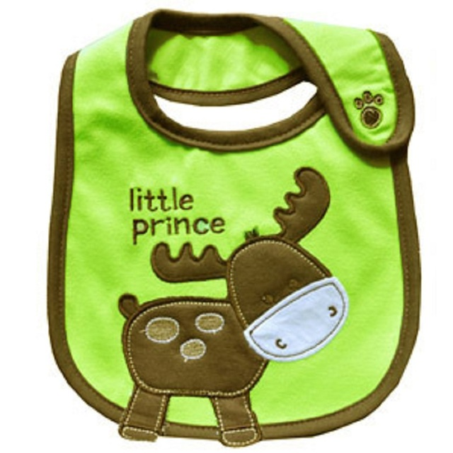 2018 Christmas Gift Baby Bibs Santa Deer X'mas 0-3Years Bebe Bandanas Feeding Towels Necktie Green Top Quality waterproof