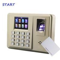 TX638 Biometrische 3000 vingerafdruk capaciteit vingerafdruk id kaart tijdregistratie systeem met linux systeem-in Electrische Registratiesysteem van Veiligheid en bescherming op