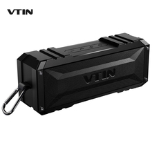 VTIN Bluetooth Waterproof Speakers Portable Wireless Stereo Speaker 20W Outputfrom Dual 10W Drivers Outdoor Waterproof Speaker