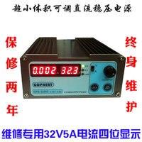 Schnelle ankunft CPS 3205D 32 V 5A mA ebene Vier display einstellbar DC power versorgung geregelt netzteil-in Spannungsmesser aus Werkzeug bei