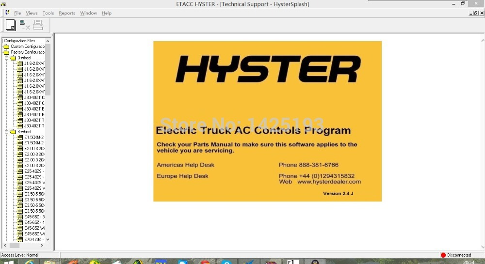 hyster b024 s135 s155xl2 s6 00 7 00xl forklift parts manual download