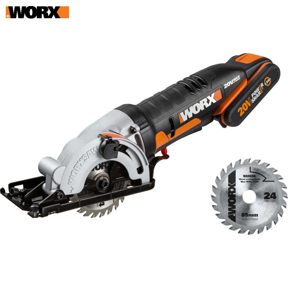 все цены на Electric Saw WORX WX527 Power tools Circular saws rechargeable
