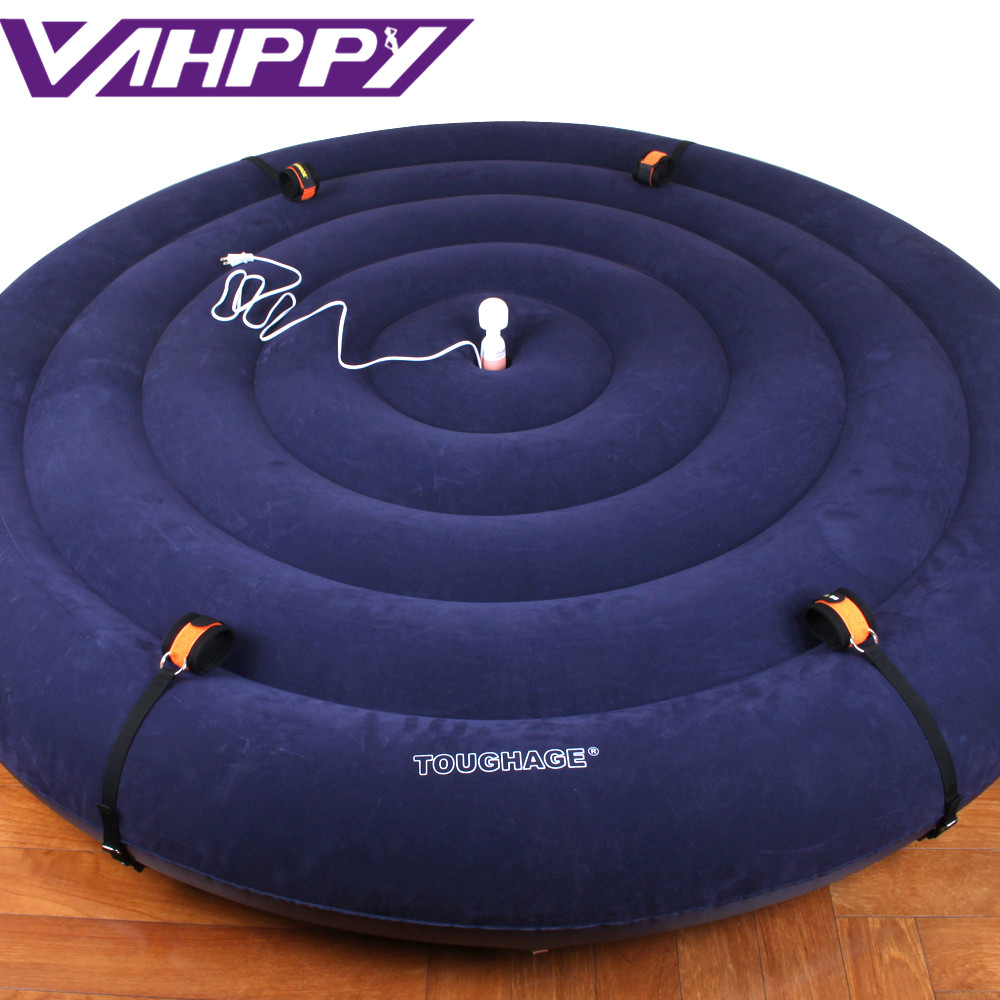TOUGHAGE Circular Bed Luxury Inflatable Pillow Chair with Adult Furniture Sex Games Versatile Sofa Pad Sex