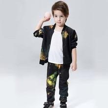 2017 Spring Autumn Baby Boys Clothes Sportswear Children Outfits Tracksuits Clothing Sets Boy Cardigan 2pcs Kids Sport Suit Set