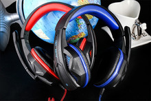 SY711MV Gaming Headphone 3.5mm Gaming Headset Earphone with Microphone Noise Canceling LED Light for PC Gamer and phone musicer