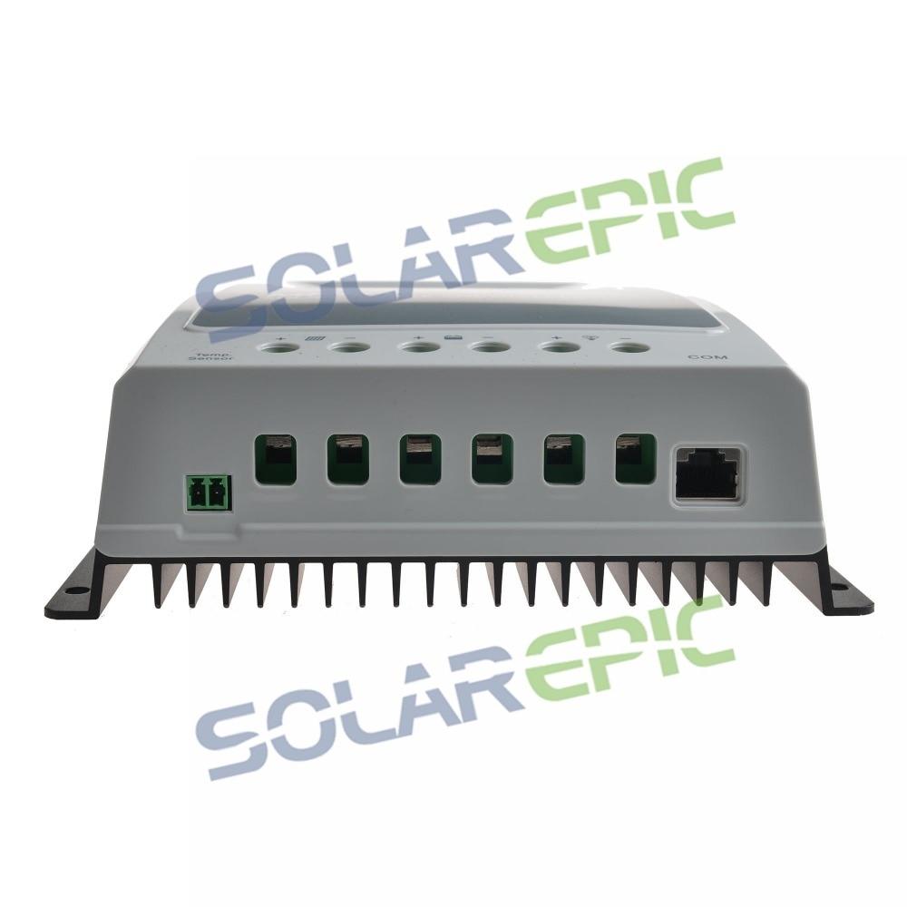 HTB1fTaQKb1YBuNjSszhq6AUsFXaR - 10A MPPT Solar Charge Controller Battery Regulator Max 100V PV Input 12V/24VDC Auto Epever Solar Controller Tracer AN Series