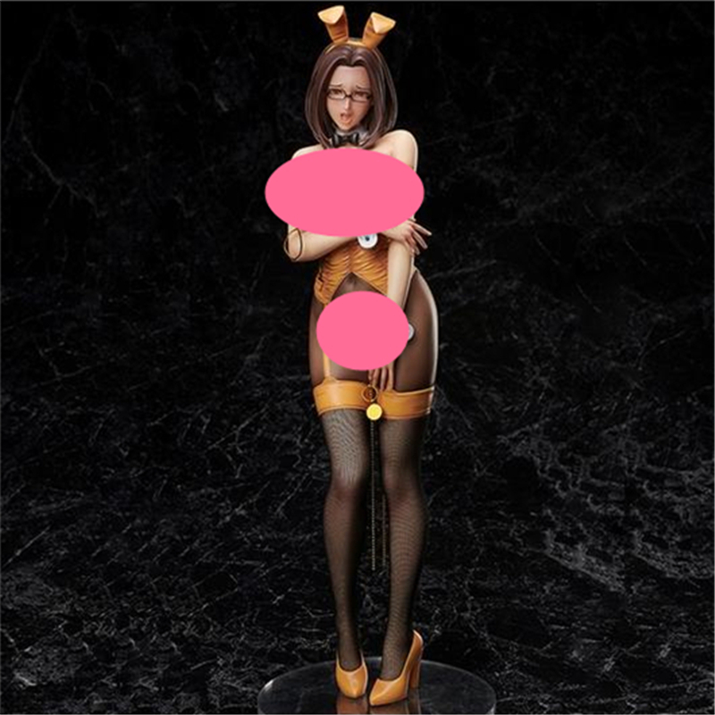 Anime <font><b>Sexy</b></font> Girl Doll Binding Non Virgin <font><b>Bunny</b></font> Ver. <font><b>1/4</b></font> <font><b>Scale</b></font> Painted PVC Action <font><b>Figure</b></font> Collectible Model Adult Toys 42cm image