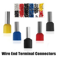 High Quality 1200Pcs Electrical Cable Wire End Terminal Connectors Crimping Tool Kit With 8 Different Sizes