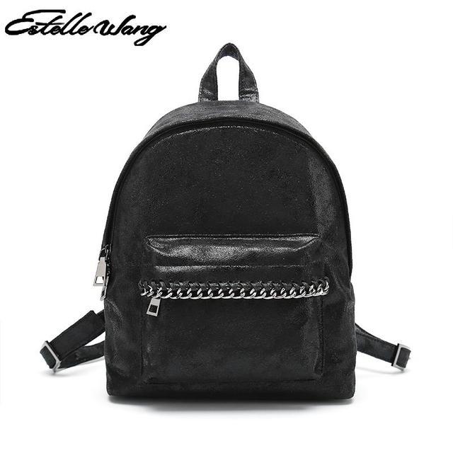 2e034248ac High Quality Pvc Backpack Women Small and Large Backpacks Bag Brand Girl s Rucksack  Daypack Backpacks Travel Bag Bagpack Female
