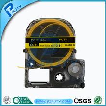 Совместимость черный на SU11Y 11 мм термоусадочную трубку лент принтеры этикеток