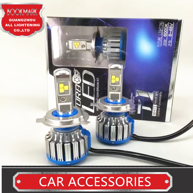 H4 Car Headlight High Power Auto H4 3 Hi lo HB2 9003 High Low 40W X2