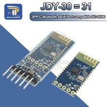 JDY-30 = JDY-31 SPP-C comunicação por serial sem fio do módulo de passagem da série bluetooth da máquina substitui HC-05 HC-06