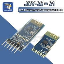 JDY 30 = JDY 31 SPP C بلوتوث المسلسل تمرير من خلال وحدة الاتصالات التسلسلية اللاسلكية من آلة استبدال HC 05 HC 06