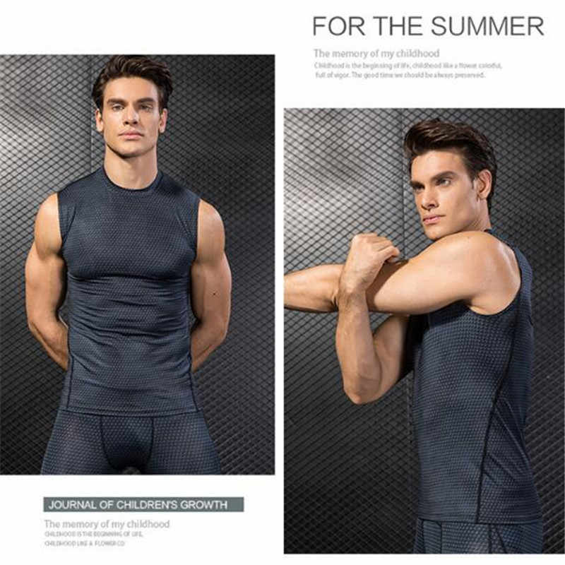 fa06c047 ... 200p Men Pro Compression 3D Print Tight Snake Scale Shoulder  Vest,Elastic Quick-drying ...