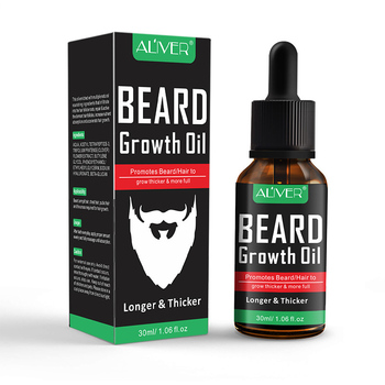 NEW Natural Organic Beard Liquid Beard Growth Conditioner Grooming Moisturizing Moustache Care 5
