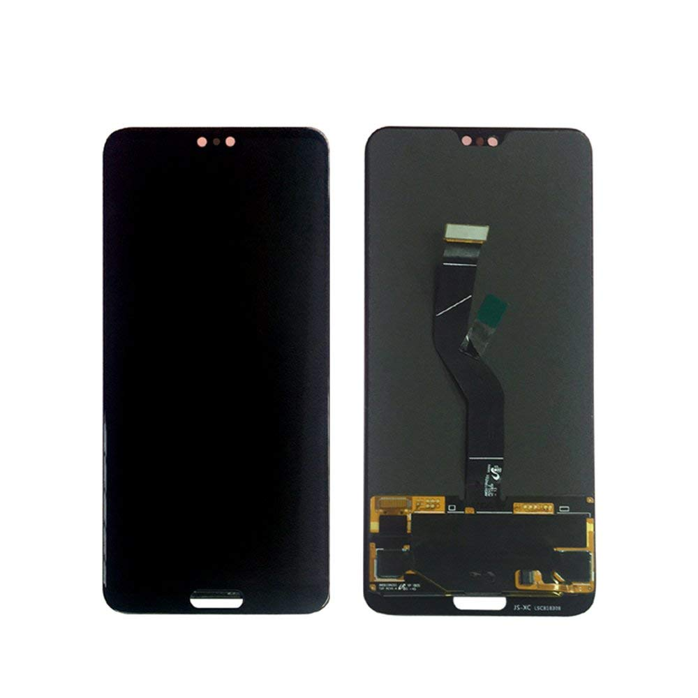 10 teile/los Für Huawei P20 Pro LCD Display + Touch Screen Digitizer Montage Ersatz Teile für HUAWEI P20 plus Schwarz