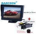 "4.3 ""Monitores TFT LCD Carro With170 Degree Backup Estacionamento Kit Câmera de Visão Traseira para OPEL Astra H/Corsa D/Meriva A/Vectra C/Zafira B"