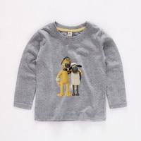 2T 12 Shaun the Sheep b07 child Long sleeve T shirt Kids Baby Summer Cute Clothes Boys Girls Tops T shirt b07