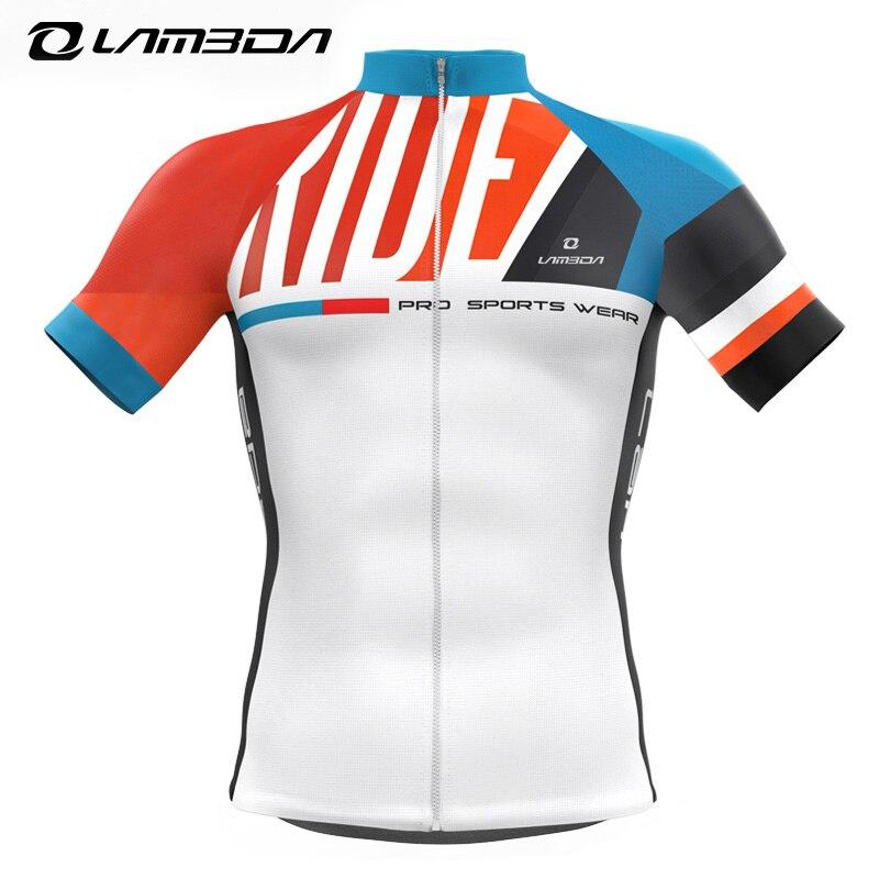 2018 LAMBDA Cycling Jerseys Summer Cycling Equipment Men Cycling Jerseys Spandex Breathable Quick Short Hot Selling Jerseyses