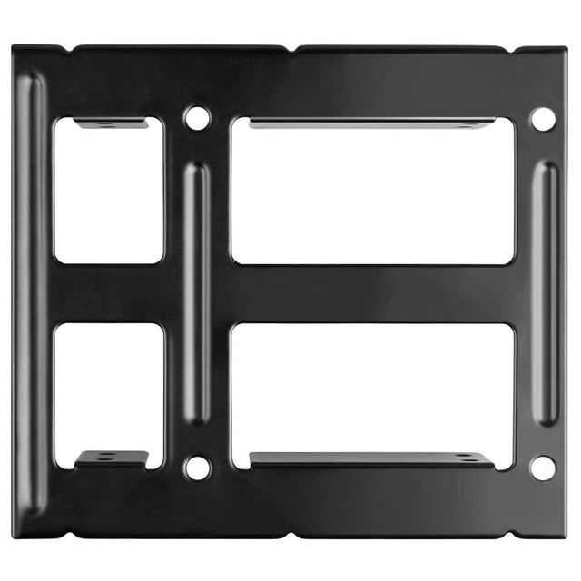 hot-2X 2.5 inch SSD to 3.5 inch Internal Hard Disk Drive Mounting Kit Bracket (SATA Data Cables and Power Cables Included) 4