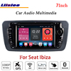 Liislee For Seat Ibiza Car Stereo Android Radio DVD Player FM BT Wifi GPS MAP NAV