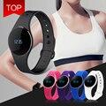 Горячая Оригинал L16 Спорт Смарт Браслет Фитнес-Деятельность Трекер Шагомер Sleep Monitor Сенсорный Bluetooth Smartwatch Браслет