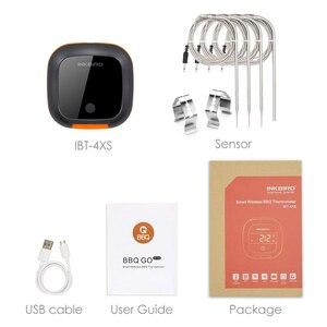 Image 5 - למעלה איכות IBT 4XS דיגיטלי אלחוטי Bluetooth בישול תנור צלייה מנגל מדחום עם שני/ארבעה בדיקות מדחום סוללה