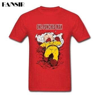 Plus Size Anime One Punch Man Anime Dragon Ball Krillin Plain Tshirt Man Short Sleeve O Neck Men T Shirt Team Clothing 1