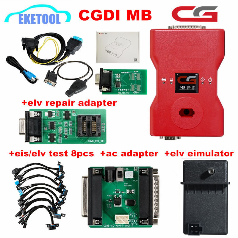 CGDI Prog MB For Benz Car Key Programmer Add Fastest for Benz Support All Key Lost