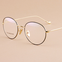 Reading Eyeglasses Optical Glasses Frames Glasses Women Male New Cat Eye Frame Ultra Light Frame Clear Glasses Round 17130