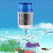 Угольный бытовая водопроводной полезные картридж очиститель фильтр чистый главная кран воды