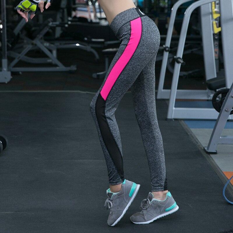 Plus Size XXL Women Mesh Patchwork Stretch Yoga Pants