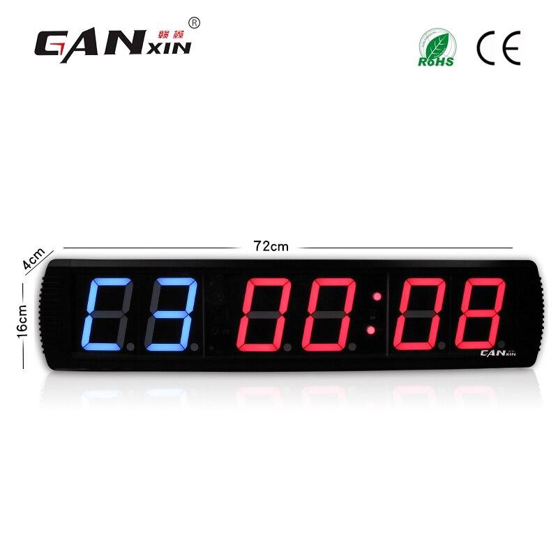 [Ganxin] 4-дюймовый тренажерный зал Кроссфит таймер, время тренировки и время отдыха, а также не будут поочередно - Цвет: GI2B4R