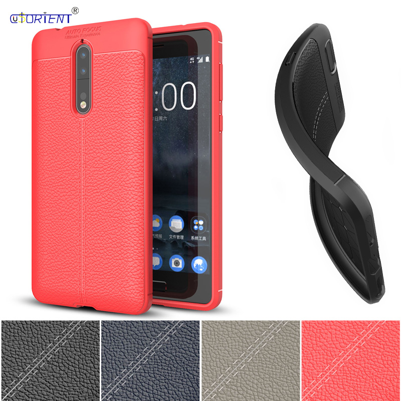 PU Silicone Case for <font><b>Nokia</b></font> 8 Global Dual <font><b>TA</b></font>-<font><b>1004</b></font> <font><b>TA</b></font>-1052 <font><b>TA</b></font>-1012 Case Soft TPU Phone Cover for <font><b>Nokia</b></font> 8 <font><b>TA</b></font> <font><b>1004</b></font> 1052 Bumper Cases image