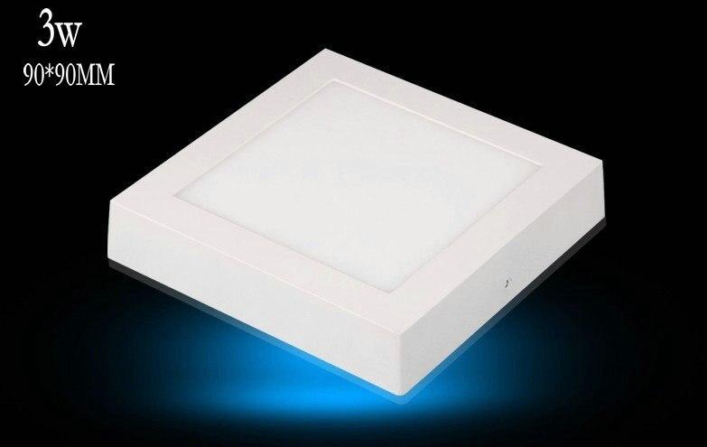 2018 Luzes Luminaria Teto Emc Lvd Fcc Ce Local Correram Limitado 10 pcs Superfície Para Baixo Painel Led Montado Fresco Quente branco Rohs Lâmpadas