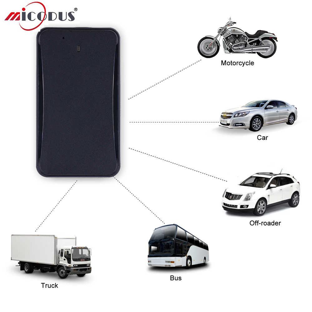 Car Bicycle GPS Tracker Concox AT4 10000mAh Battery