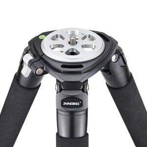 Image 2 - RT90C מקצועי צפרות 10 שכבה סיבי פחמן מצלמה חצובה כבד קומפקטי קערת חצובה עם 75mm קערת & קערת מתאם