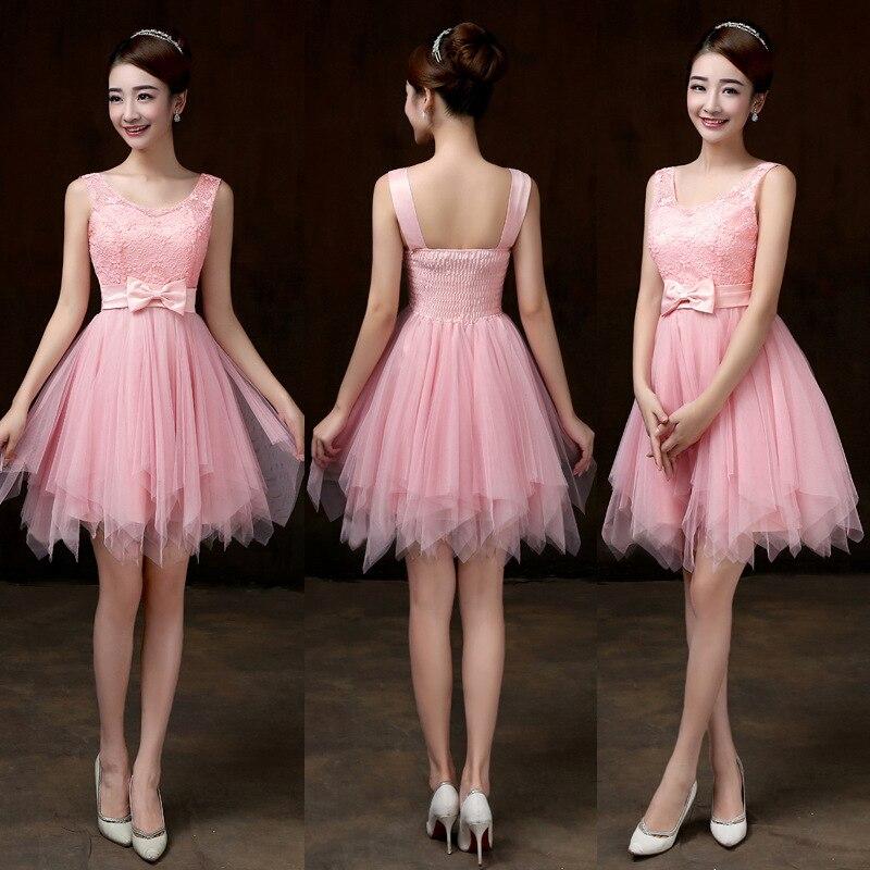 Vestido de festa de casamento para convidada curto
