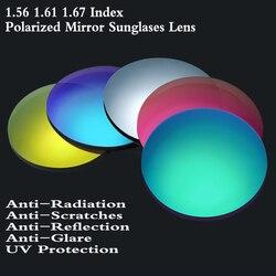 2 Pcs 1,56 1,61 1,67 Index Polarisierte Rezept Sonnenbrille Objektiv für CYL über 2,0 oder Multifokale Progressive Sonnenbrille Linsen