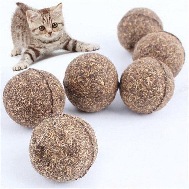 Il Trattamento di Erba Gatta gatto Giocattolo Naturale Sfera di Favore di Casa A