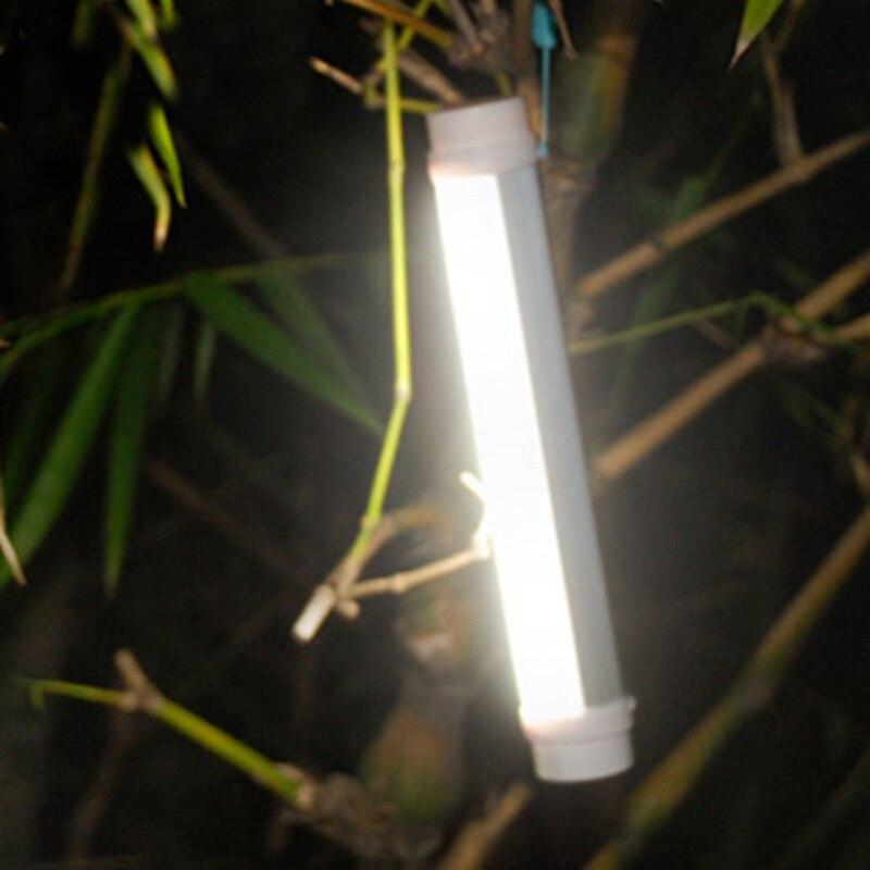 LED Bright Portable Camping Lantern 200 Lumens Emergency Flashlight USB Charging Warning Signal Light --M25