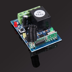 Image 4 - ホット433 mhz dc12v 1 controle remotoチャンネル学習コードワイヤレスリモートコントロールリレーモードuzaktan kumanda